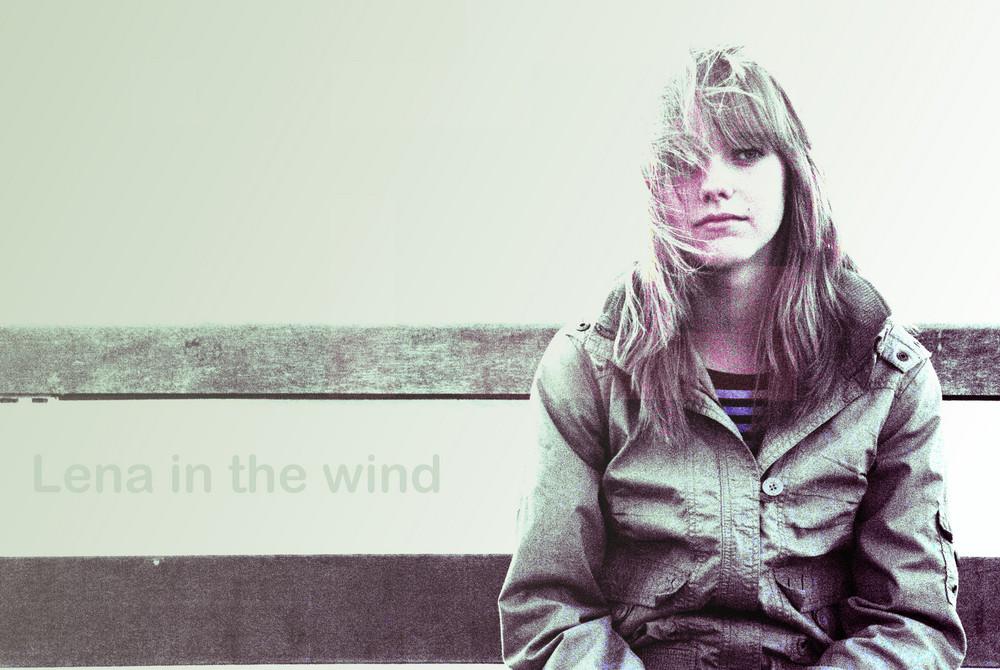 Pieke im Wind