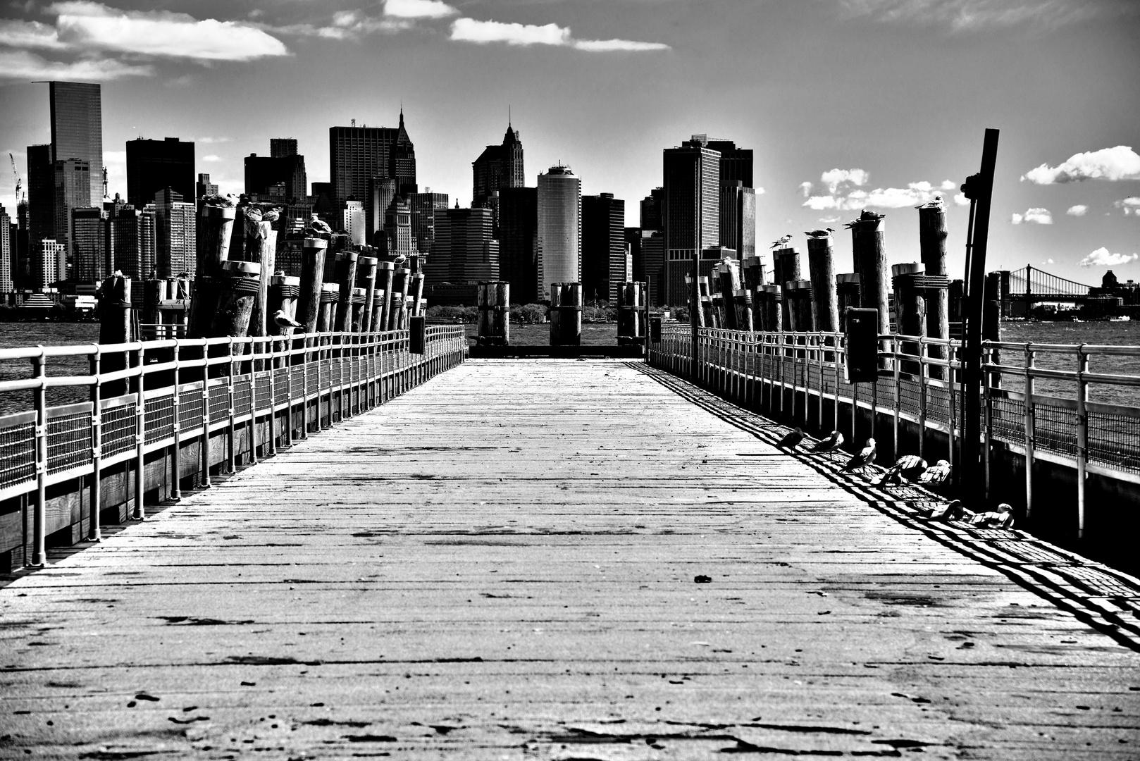Pier Liberty Island