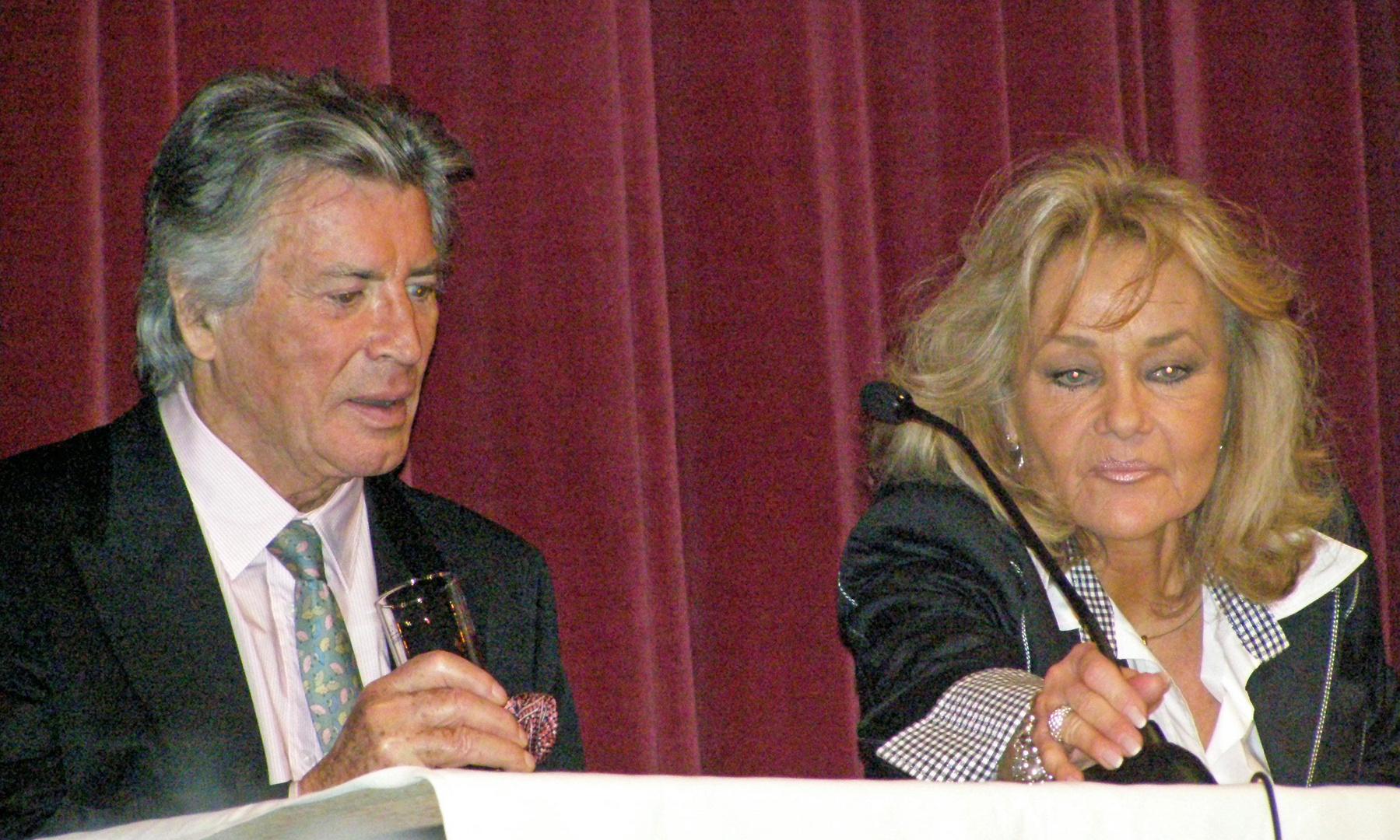Pierre Brice und Frau in Gotha 30.3.2010