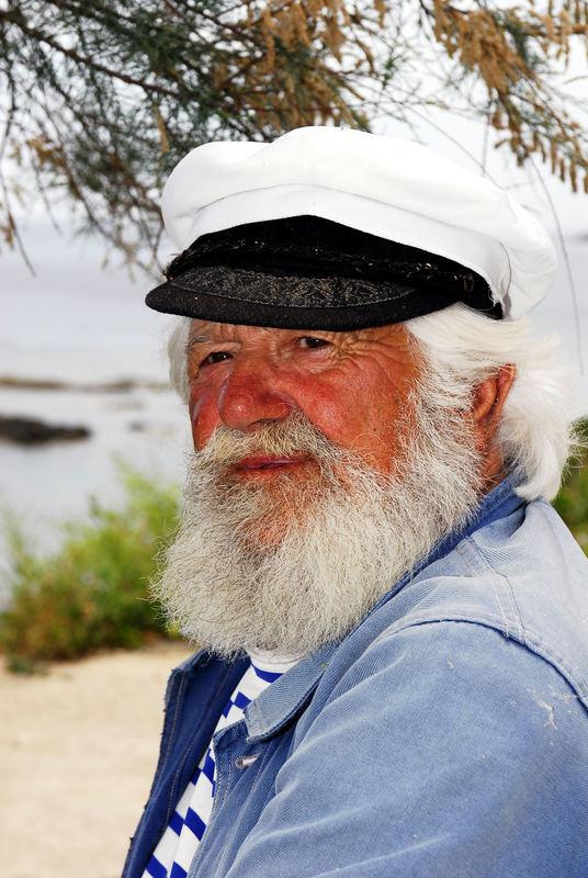 Pierrot Tolaini aus Centuri ist der Fernsehstar des Ortes