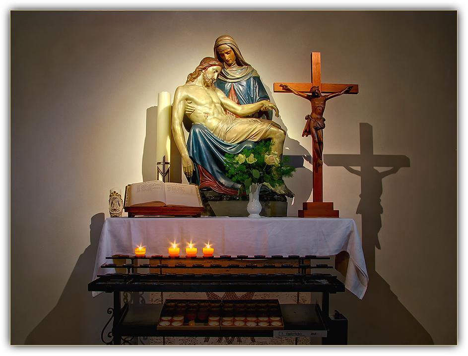 Pieta Peter & Paul Kirche