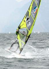 Pietro ITA - 610 in action al DETOUR Interlaghi (Torbole SurFestival 2008)