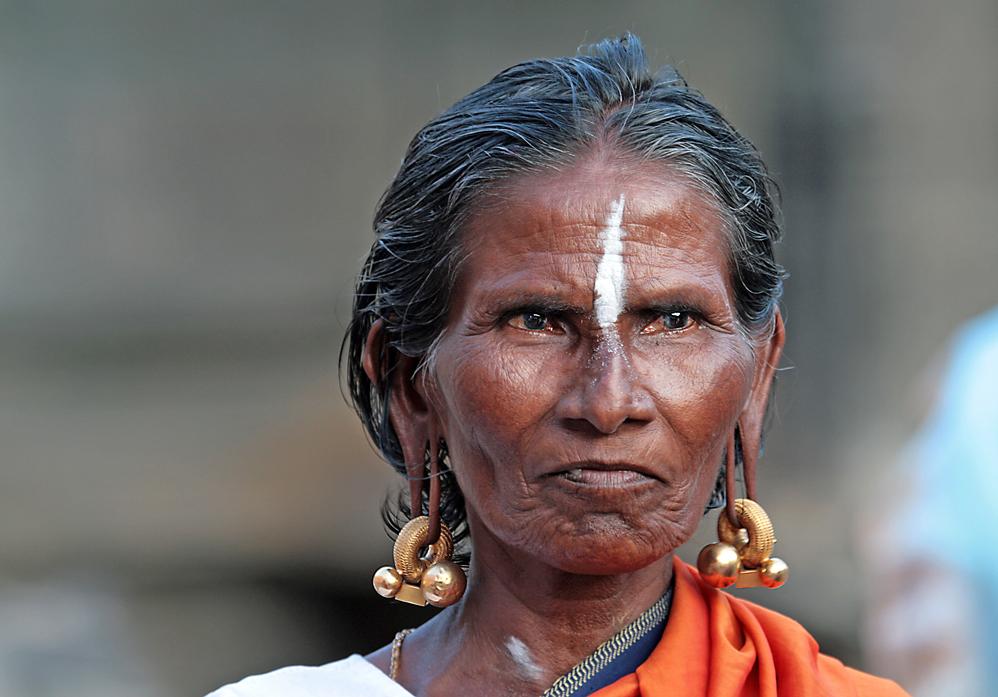 Pilgerin in der heiligen Stadt Tiruvannamalai