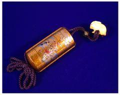 Pillbox [used in feudal Japan]