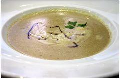 Pilz-Cremesuppe von Waldpilzen