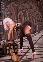 Pin Up Girl - Watch Your Luggage - Project