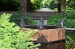 Pinguinbrunnen Hamburg Stadtpark