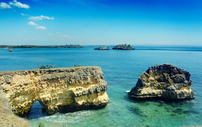 Pink Beach - East Lombok - Indonesia