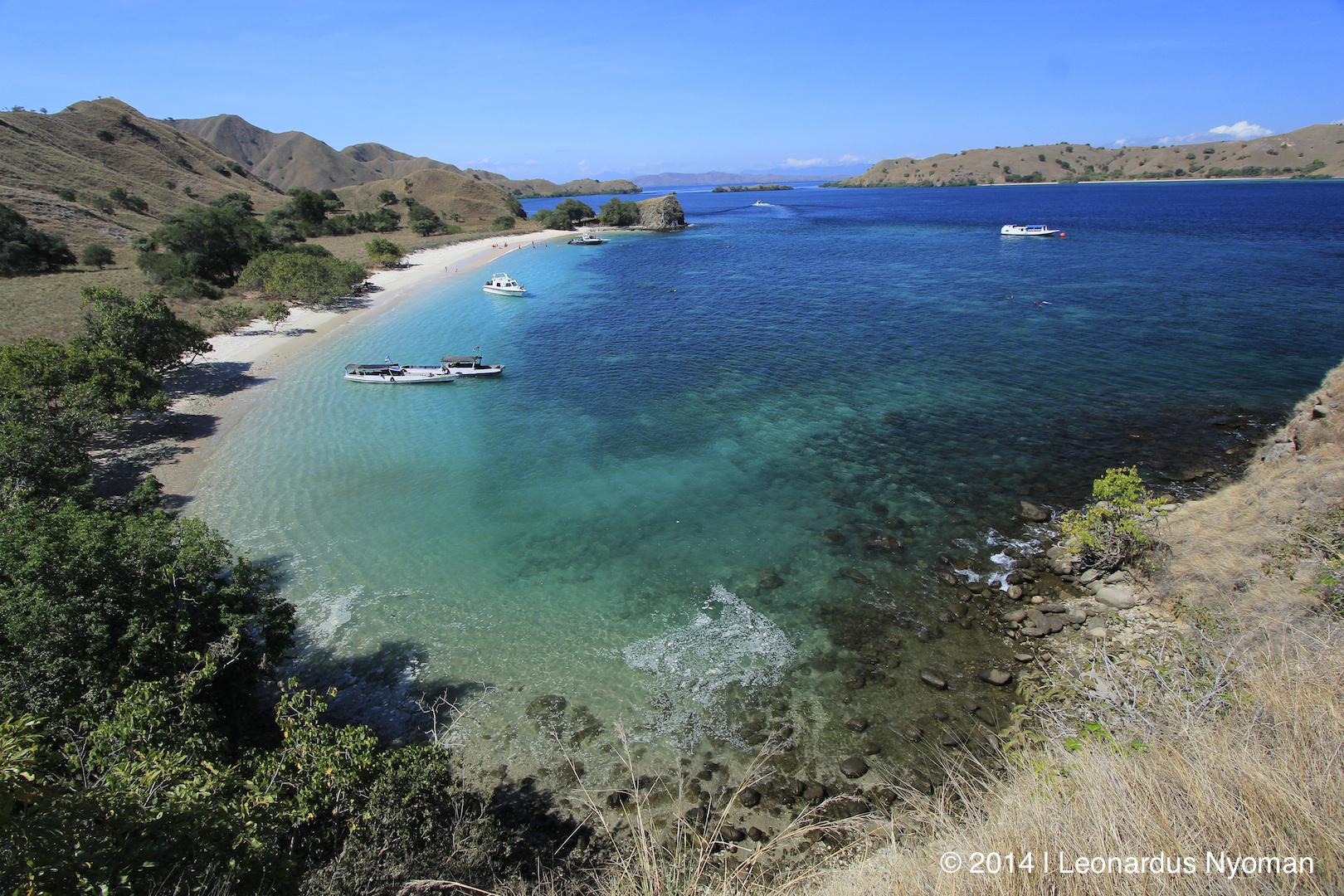 Pink Beach - Insel Komodo Indonesien