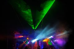 Pink Floyd Cover Band Any Colour im Laserschein