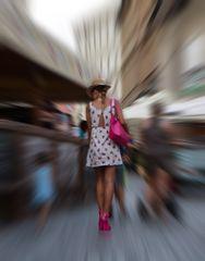 pink heels  - II -