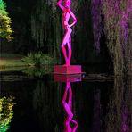 Pink Lady in der  Langen Nacht der Lichter der Nordart