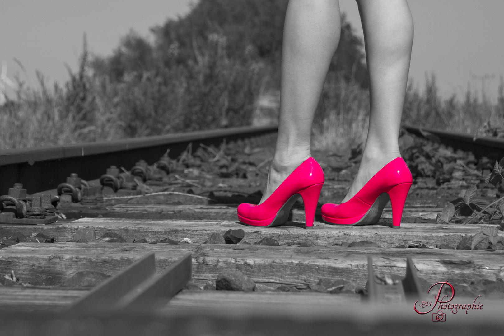 Pink my shoes