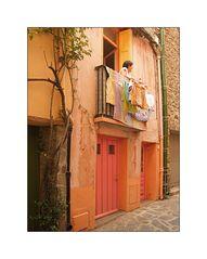 Pink - Orange, eine eigenwillige Farbzusammenstellung