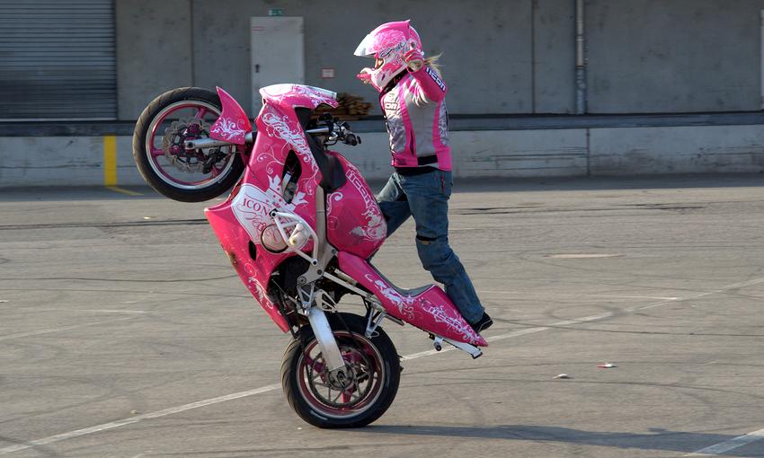 pink panther foto bild sport motorsport motorradsport bilder auf fotocommunity. Black Bedroom Furniture Sets. Home Design Ideas
