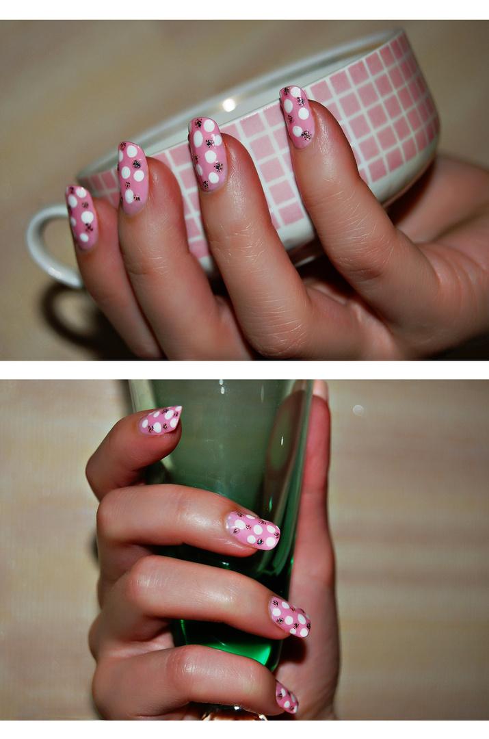 Pinky Nail Art