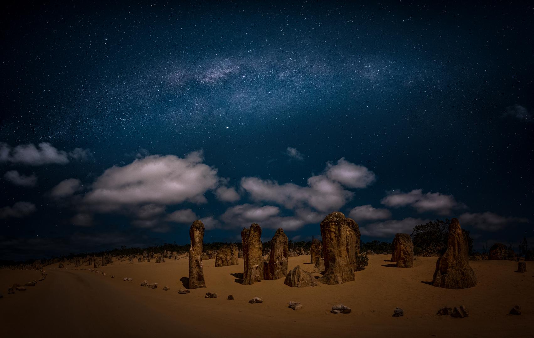 * Pinnacles Australien *