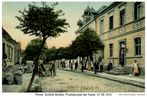 Pinne, Provinz Posen, Westpreußen, Schloßstraße, um 1911 (heute - Pniewy, Polen)