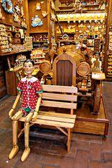Pinocchio attend les convoyeurs