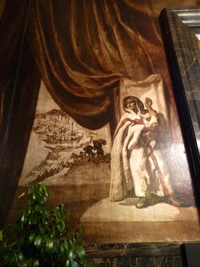 Pintura de Josè Marìa Sert, en el Ayuntamiento de Barcelona.