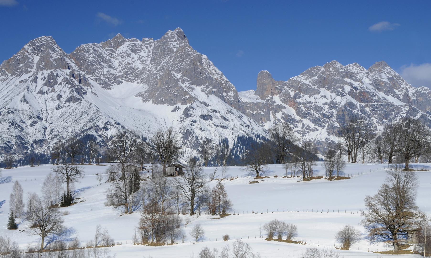 pinzgauer Winterlandschaft