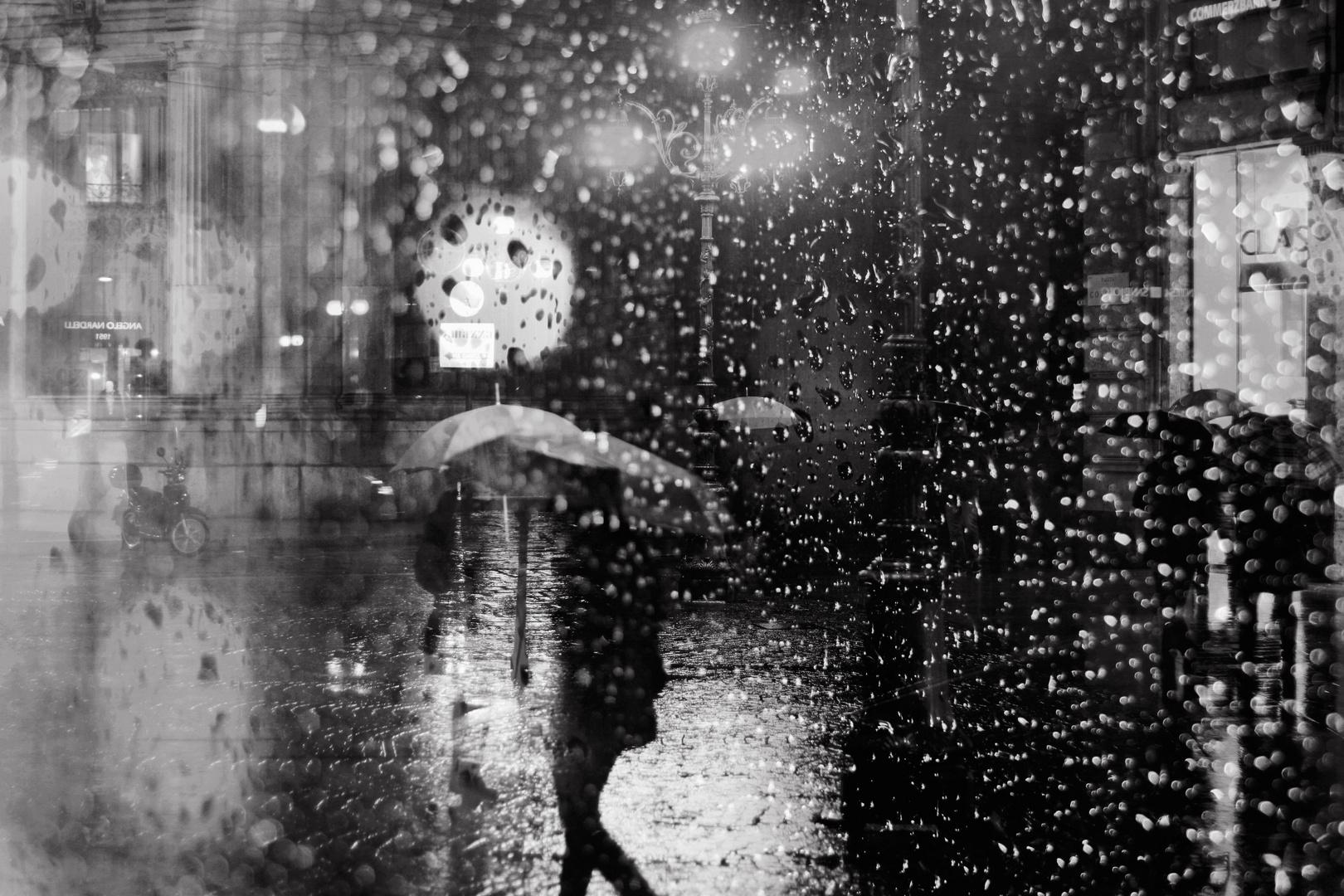 pioggia a tratti