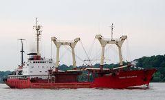 Pioner Moldav II - Stückgutfrachter