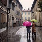 Piove a Monza