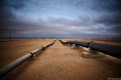 Pipeline Öl + Wasser