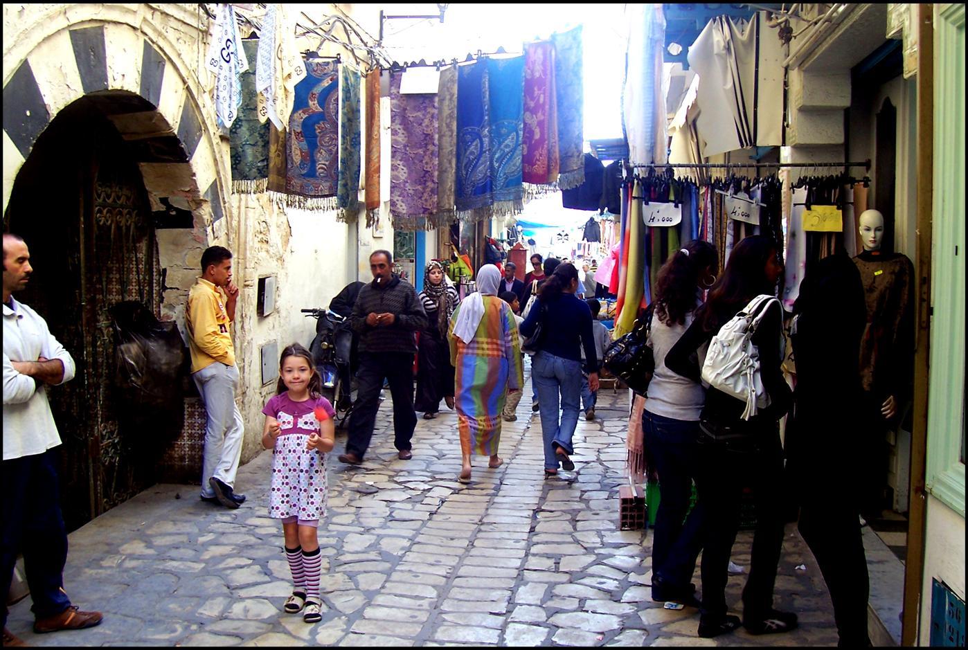 Pippi in der Medina
