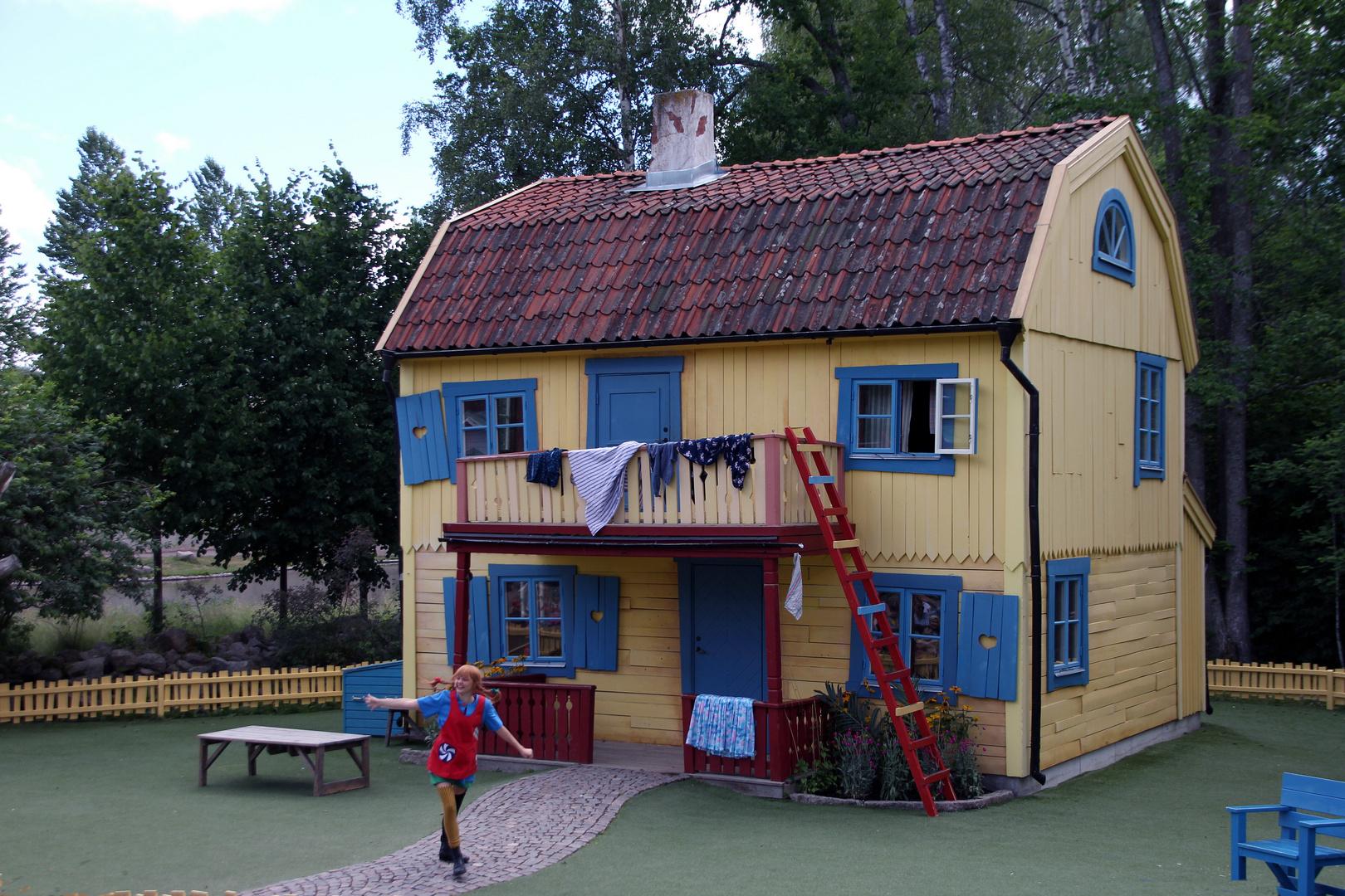 Pippi Langstrumpf Und Die Villa Kunterbunt Foto Bild World