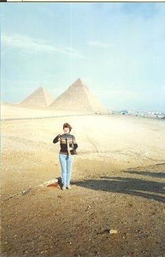 piramids in Giza