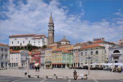 Piran - An der Piazza Tartini