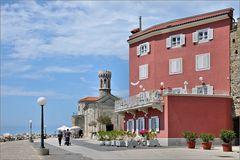 Piran - Haus und San Clemente
