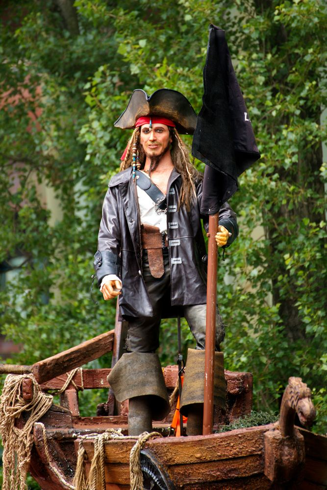 Piraten Captain Jack Sparrow