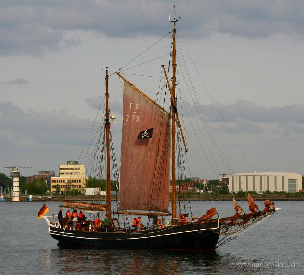 Piratenalarm im Kieler Hafen