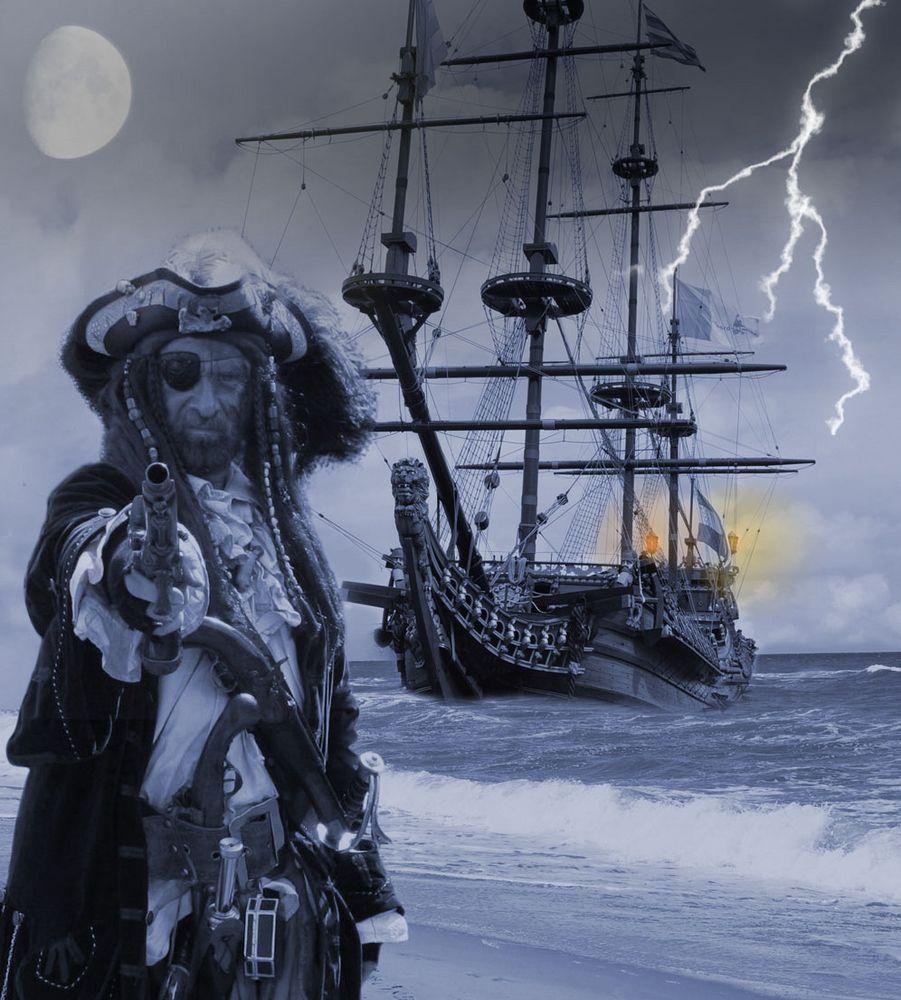 Piratenlandung...
