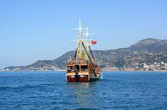 """""""Piratenschiff"""" bei Alanya, Türkei"""