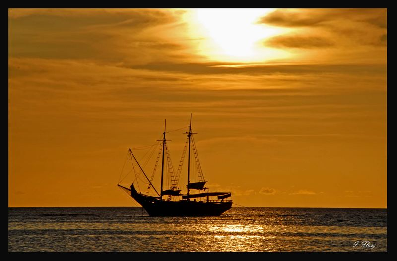 PIRATES IN THE CARIBBEAN SEA