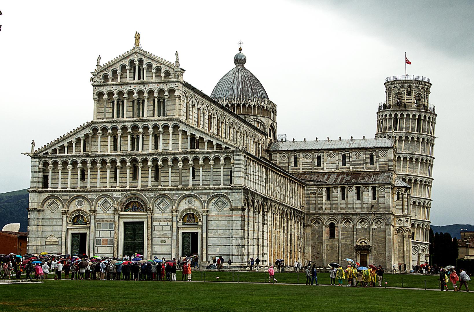 Pisa bei Regen