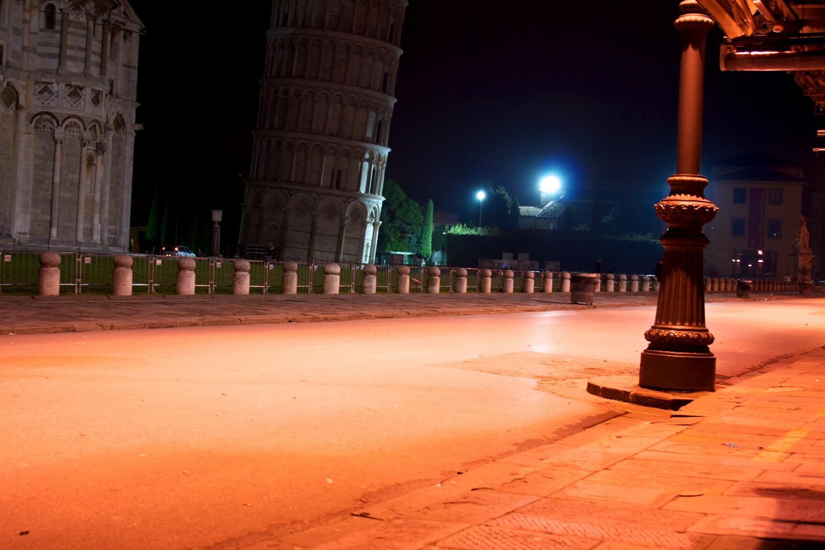 Pisa, finalmente tranquilla...