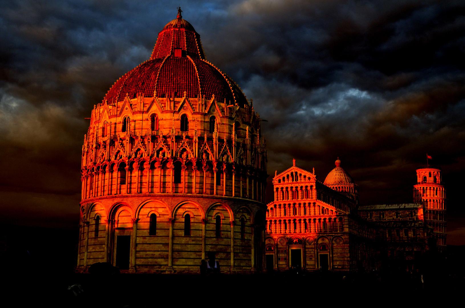 Pisa in Rot......