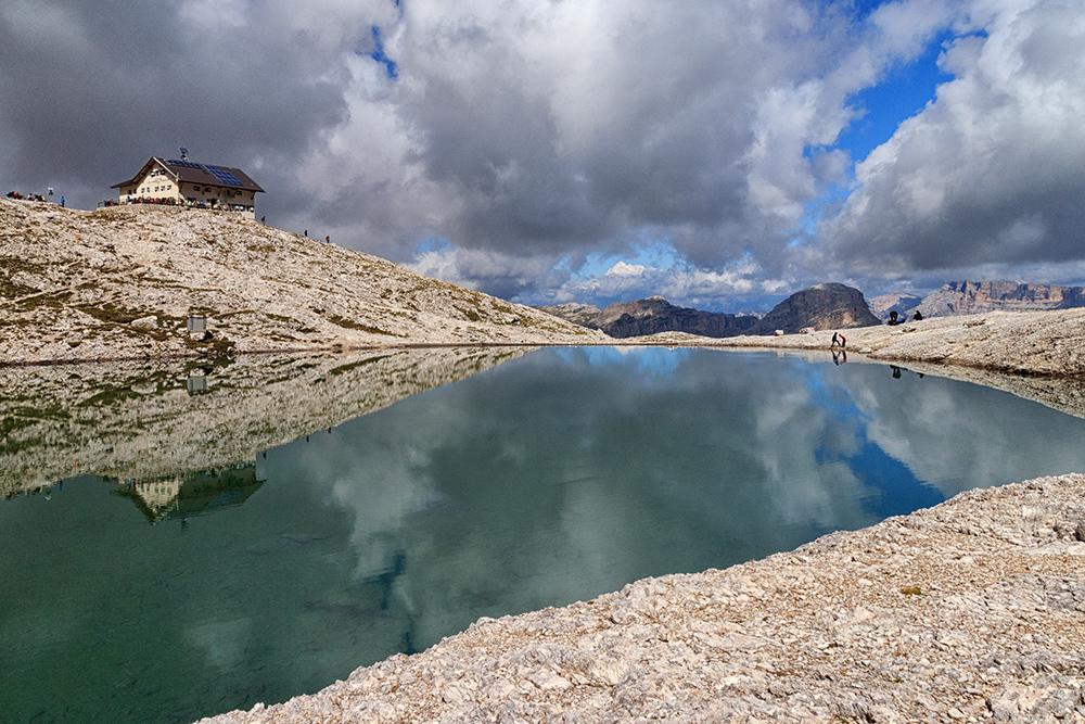 Pisciadu See und Hütte 2