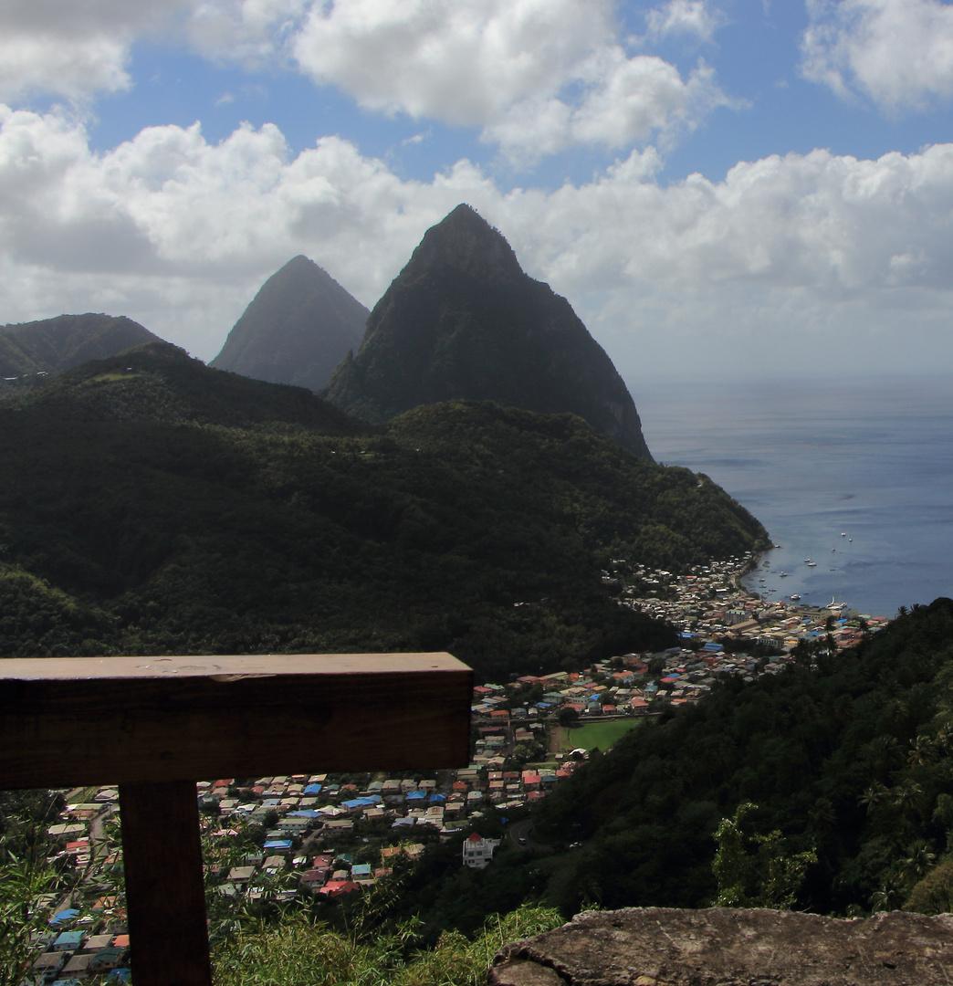 Pitons von St. Lucia
