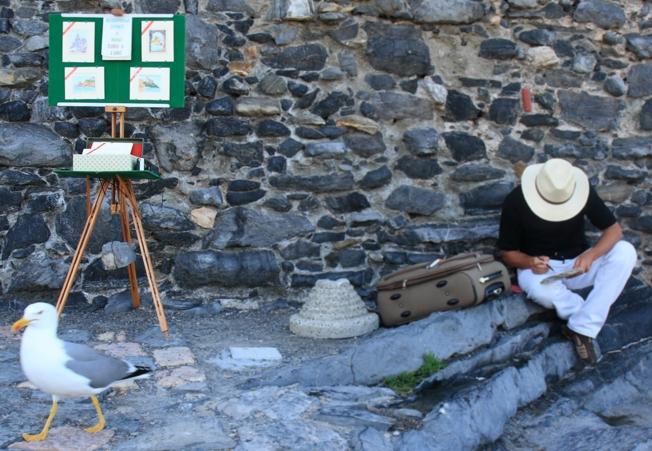 pittore a portovenere