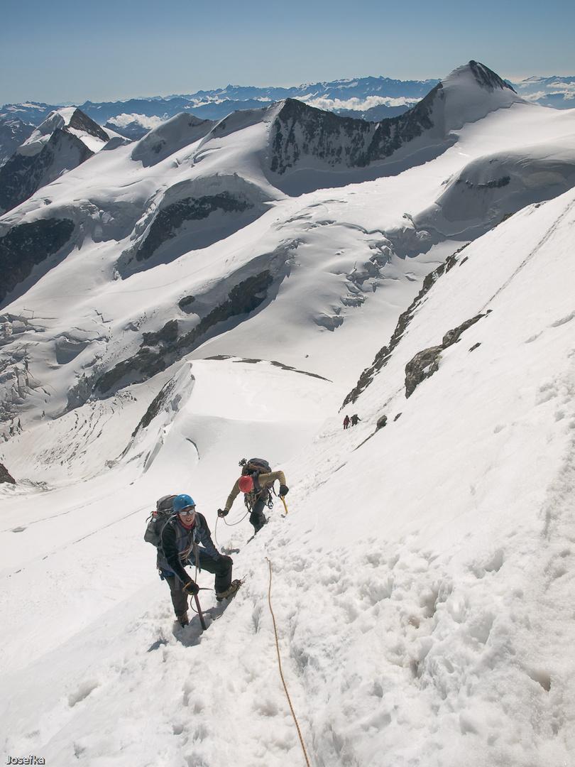 Piz Bernina - Spallagrat