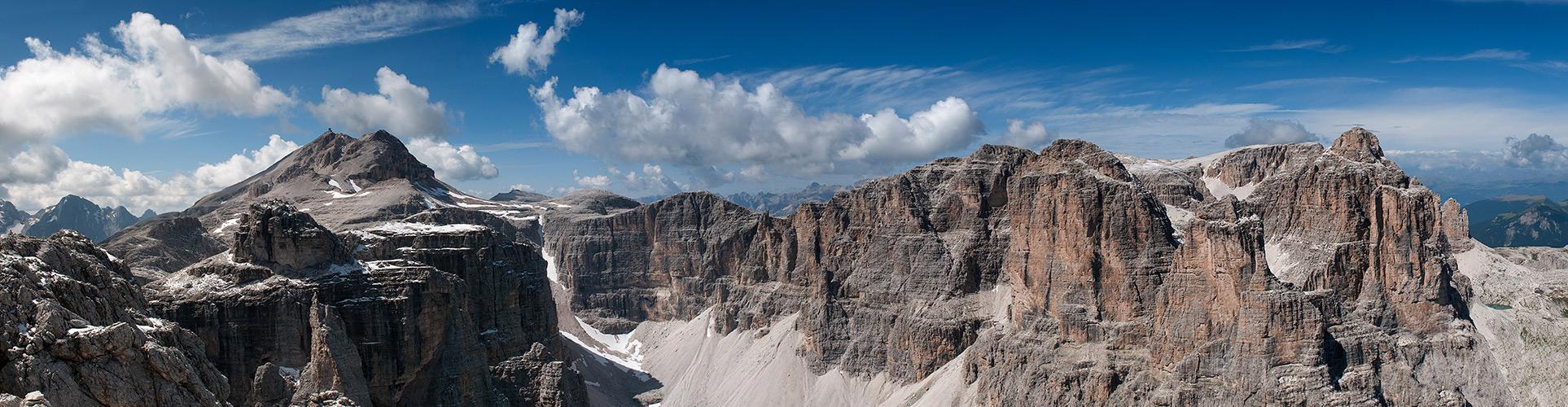 ... Piz Boè und Pisciadùspitze - Südtirol ...
