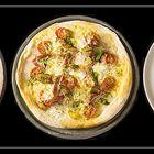 Pizza - Vorher - Nachher
