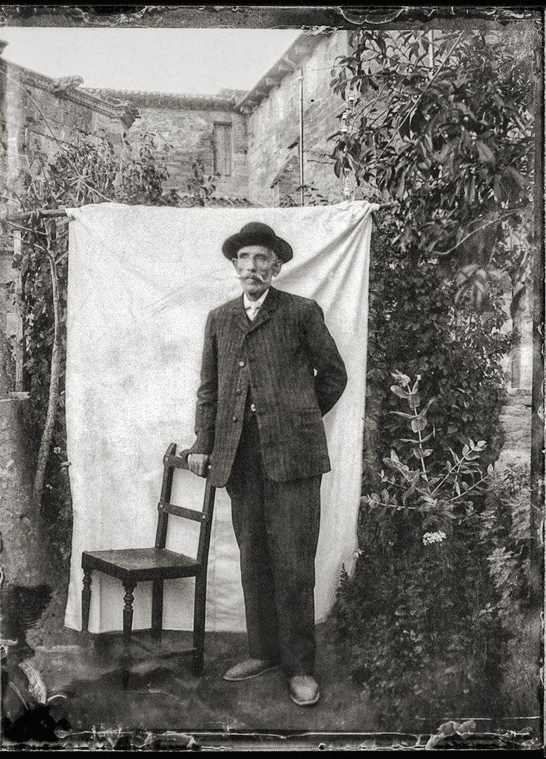 Placa De GelatinoBromuro De Plata.Agfa.Comienzos de 1900