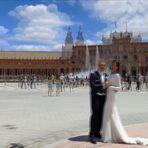 Placa Espania Sevilla Spanien